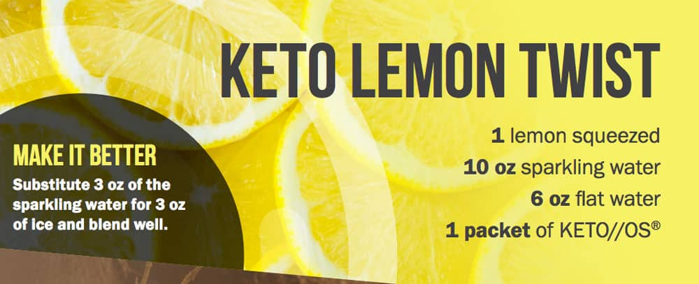 Keto Lemon Twist