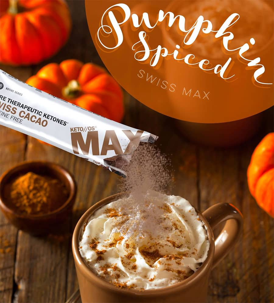 Pumpkin Spiced Max Swiss Cacao Latte