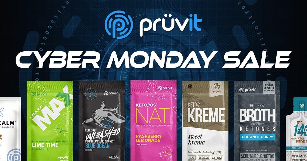 Pruvit Cyber Monday Sale