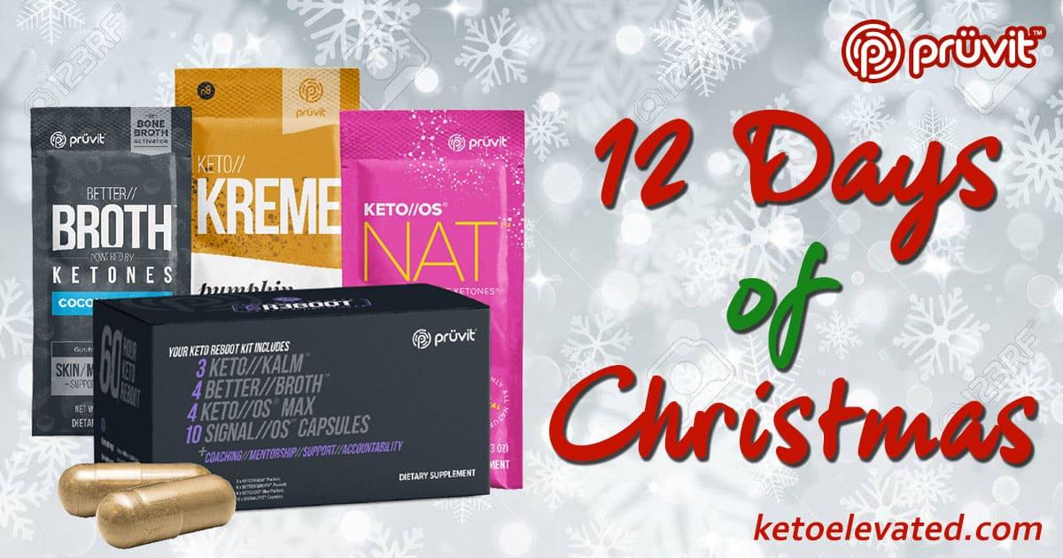 Pruvit 12 days of Christmas Sale