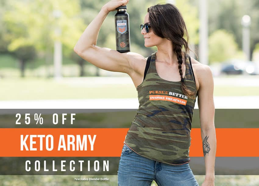 Pruvit Gear Keto Army Collection
