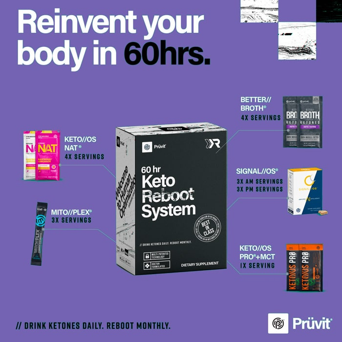 reboot your body in 60 hours