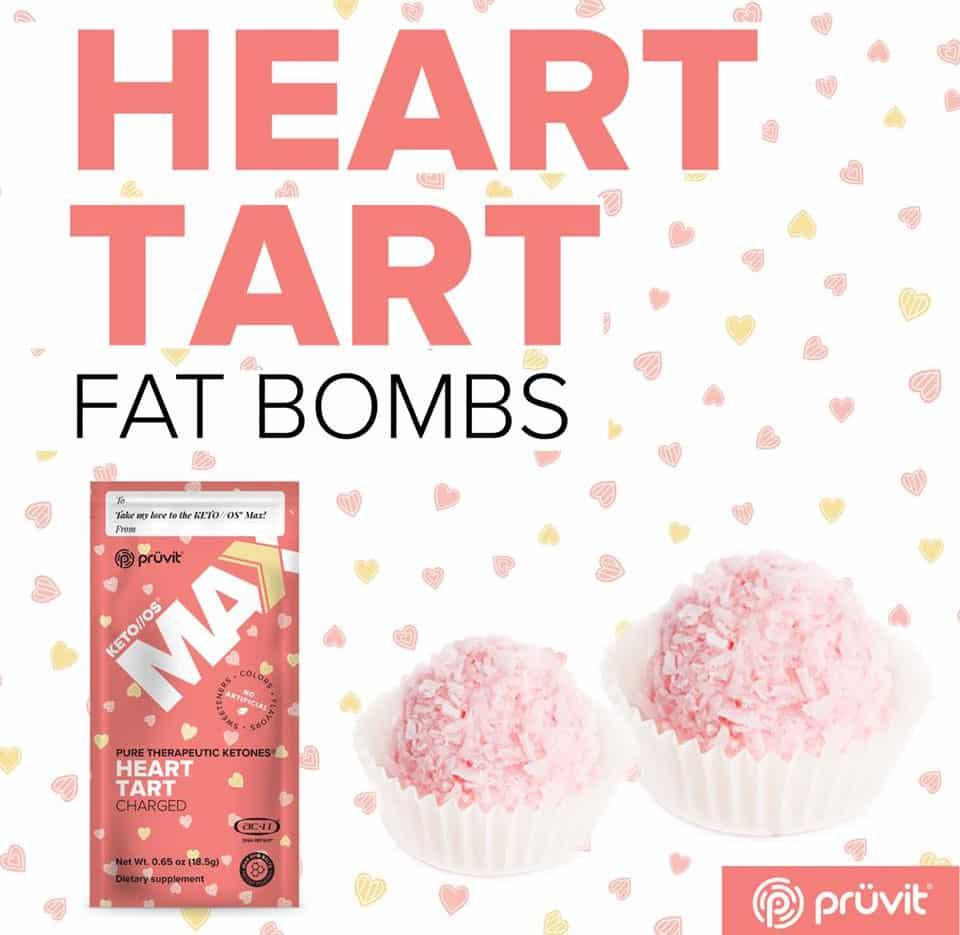 keto//os max heart tart fat bombs recipe