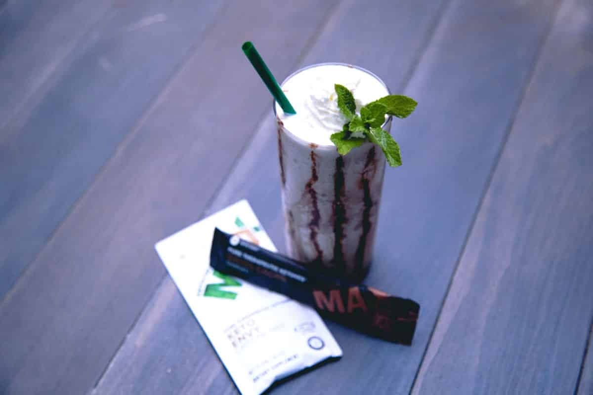 Keto Envy Mint Frappuccino Recipe