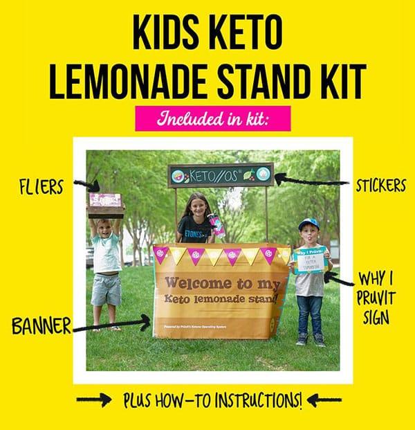 Kids Keto Lemonade Stand Kit