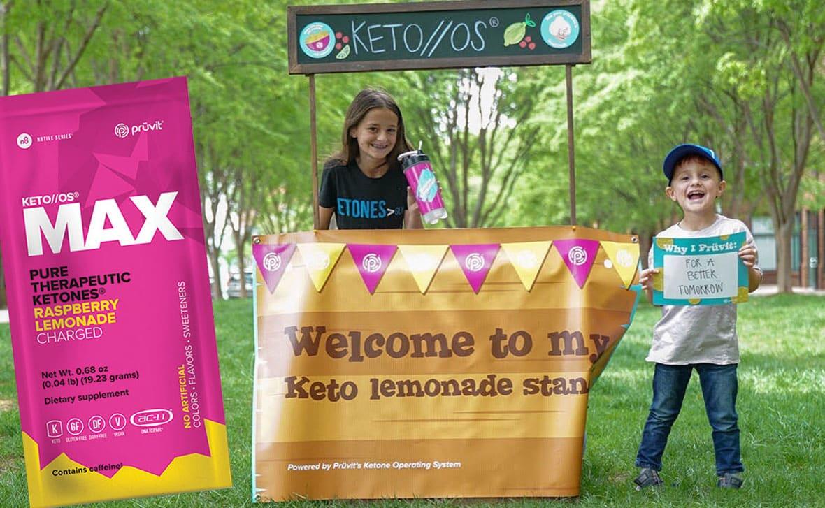 Pruvit Keto Lemonade Stand Kit