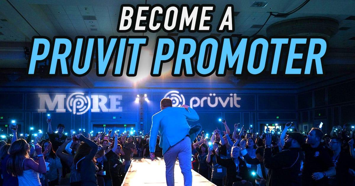 Become a Pruvit Promoter