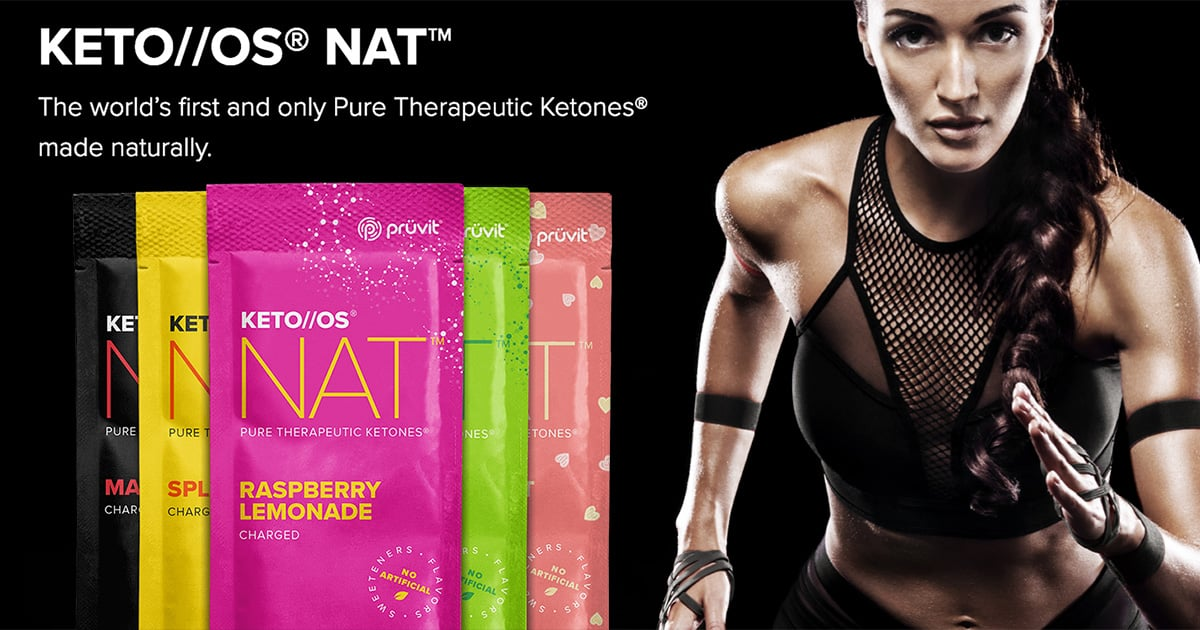 Keto OS NAT All Natural Ketones