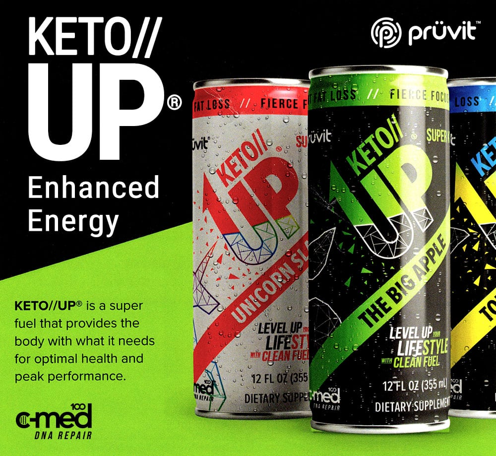 Keto Up Enhanced Energy Drink