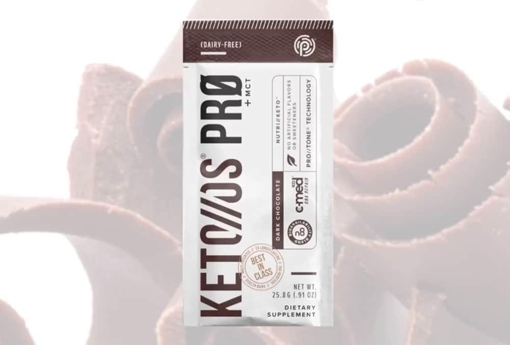 Keto OS PRO dark chocolate