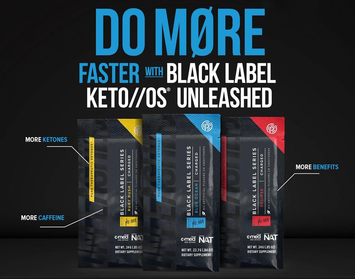 black label keto os unleashed
