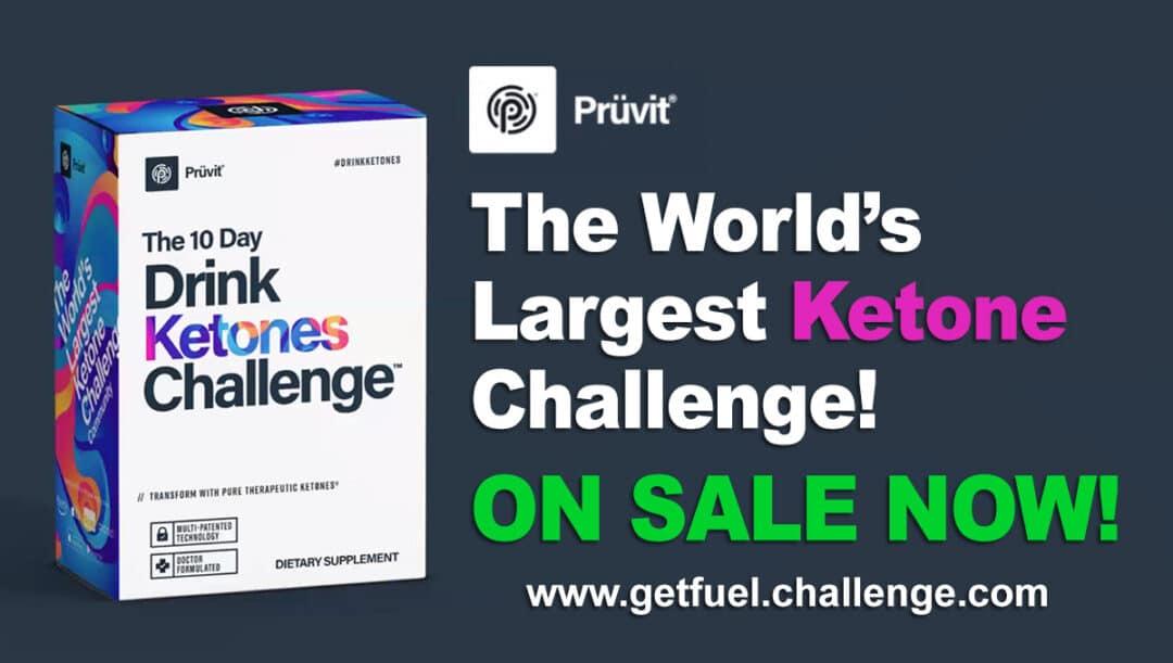 Pruvit 10 Day Drink Ketones Challenge