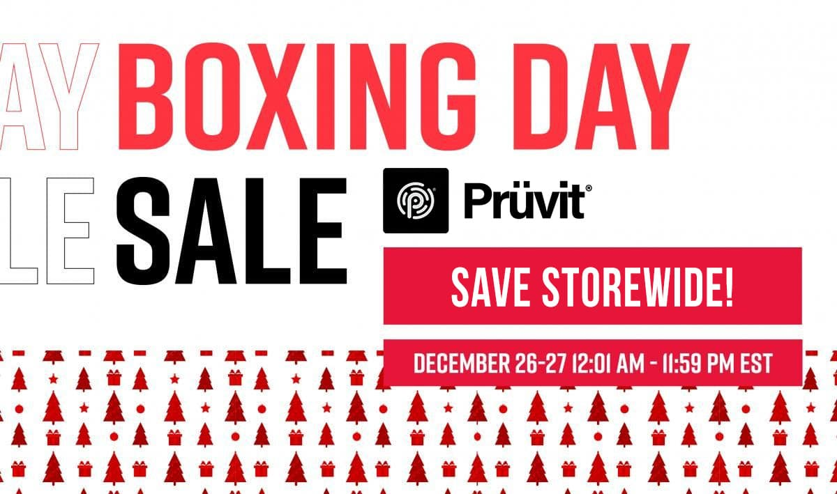 Pruvit Boxing Day Sale
