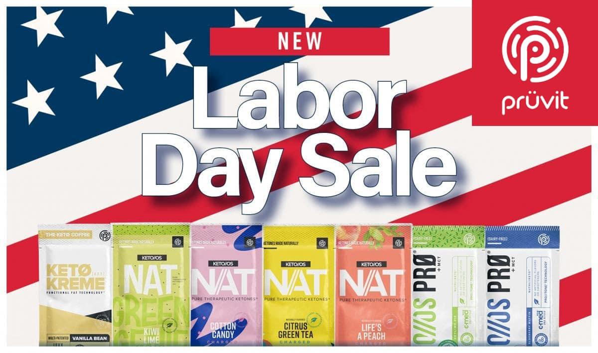 pruvit labor day sale